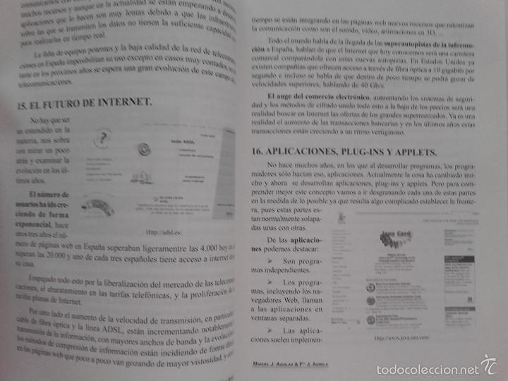 Libros de segunda mano: INTRODUCCIÓN A LAS TÉCNICAS DE WEBMASTER - MANUEL JOSÉ AGUILAR GALLEGO - ED. TREMSA - 2001 - Foto 4 - 58381071