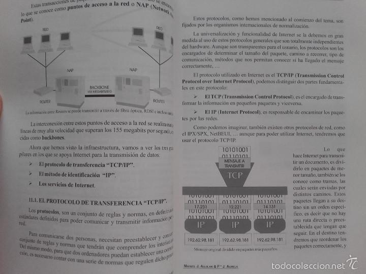 Libros de segunda mano: INTRODUCCIÓN A LAS TÉCNICAS DE WEBMASTER - MANUEL JOSÉ AGUILAR GALLEGO - ED. TREMSA - 2001 - Foto 5 - 58381071