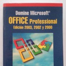 Libros de segunda mano: OFFICE PROFFESIONAL - FRANCISCO PASCUAL. Lote 58381383