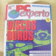 Libros de segunda mano: PC EXPERTO Nº 1 DISCOS DUROS - COLECCION PC ACTUAL. Lote 58382161