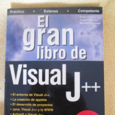 Libros de segunda mano: EL GRAN LIBRO DE VISUAL J ++ - EDITORIAL MARCOMBO. Lote 58453255