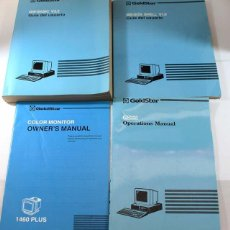 Libros de segunda mano: MANUAL ORDENADOR PC GOLDSTAR (LG) GS335 + MS DOS + GW BASIC + MONITOR COLOR 1423 PLUS, EN INGLES. Lote 58487920