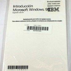 Libros de segunda mano: MANUAL INTRODUCCION MICROSOFT WINDOWS 98 IBM, SIN DESPRECINTAR, SOLO LIBRO NO DISQUETES. Lote 58487933