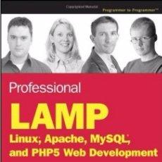 Libros de segunda mano - LAMP desarrollo web con Linux Apache MySQL y PHP5 - 58640310