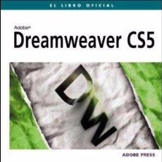 Libros de segunda mano: DREAMWEAVER CS5 EL LIBRO OFICIAL ADOBE. Lote 58641072