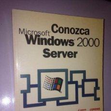 Libros de segunda mano - Conozca Windows 2000 Server - 58649963