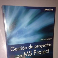 Libros de segunda mano: GESTIÓN DE PROYECTOS CON MS PROJECT ( MS PROJECT 2003 ) ( INCLUIDO CD-ROM ). Lote 58650883