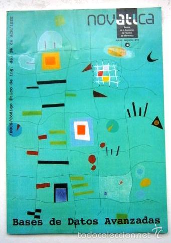 Libros de segunda mano: Gran lote de 61 revistas variadas NovATIca de Informática, trimestral en Madrid entre 1991 y 2012 - Foto 2 - 58650965