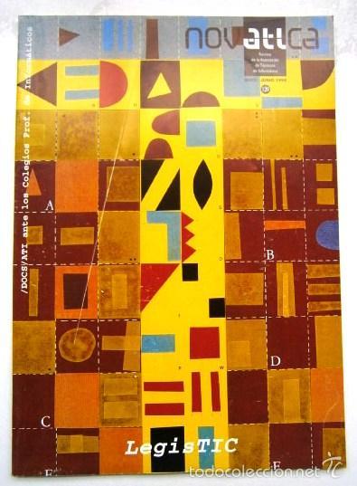 Libros de segunda mano: Gran lote de 61 revistas variadas NovATIca de Informática, trimestral en Madrid entre 1991 y 2012 - Foto 3 - 58650965