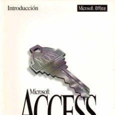 Libros de segunda mano: INTRODUCCIÓN. MICROSOFT ACCESS. SISTEMA DE ADMINISTRACIÓN DE BASES DE DATOS RELACIONALES PARA WINDOW. Lote 58673156