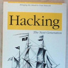 Libros de segunda mano: HACKING - THE NEXT GENERATION - BRINGING THE ATTACK TO YOUR NETWORK - O'REILLY 2009 - VER INDICE. Lote 60912055