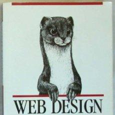 Libros de segunda mano: WEB DESIGN IN A NUTSHELL - A DESKTOP QUICK REFERENCE - JENNIFER NIEDERST - O'REILLY 1999 VER INDICE. Lote 60938195