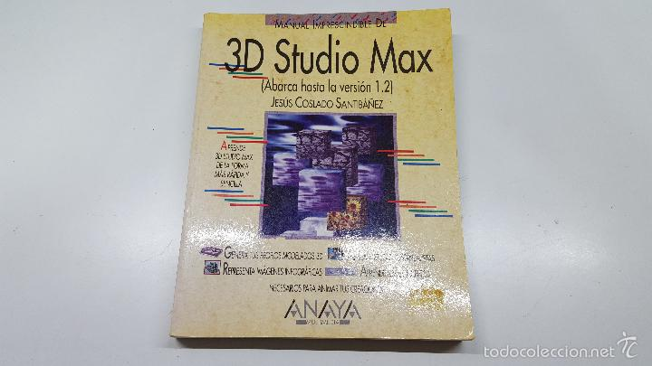 3d studio max manual del usuario: daniel venditti: 9789875260399.