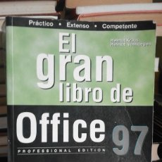 Libros de segunda mano: EL GRAN LIBRO DE OFFICE 97 - EDICIÓN PROFESIONAL - HELMUT KRAUS Y HELMUT VONHOEGEN. Lote 61404755