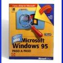 Libros de segunda mano: MICROSOFT WINDOWS 95 PASO A PASO - USUARIOS AVANZADOS / MCGRAW HILL 1996 / VER FOTOS. Lote 33501922