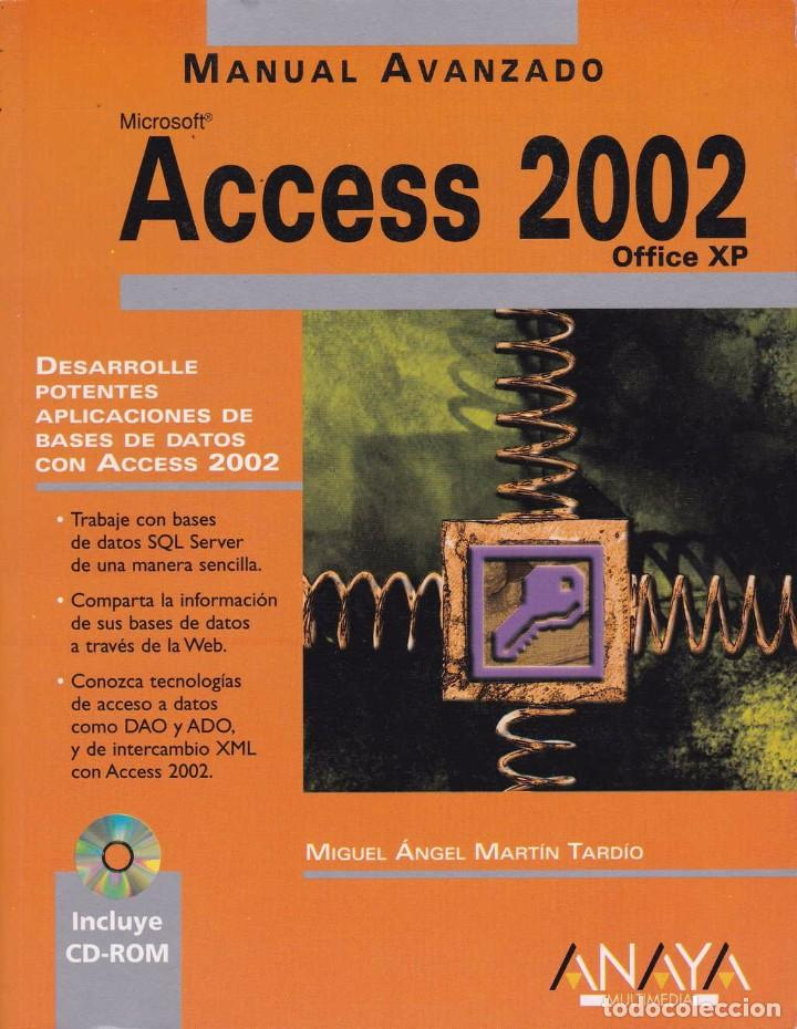 ACCESS 2002 (Libros de Segunda Mano - Informática)