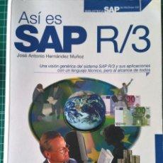 Libros de segunda mano: ASÍ ES SAP R/3. Lote 65663810