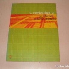 Libros de segunda mano: VERUSCHKA GÖTZ. RETÍCULAS PARA INTERNET Y OTROS SOPORTES DIGITALES. RM77346. . Lote 65915858