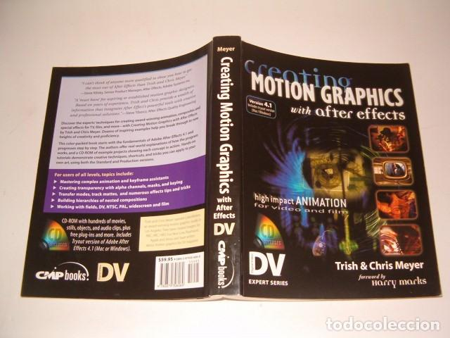 TRISH MEYER, CHRIS MEYER. CREATING MOTION GRAPHICS WITH AFTER EFFECTS. RM77351. (Libros de Segunda Mano - Informática)