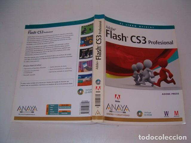 Libros de segunda mano: ADOBE PRESS. Flash CS3 Profesional. El libro oficial. RM77397. - Foto 1 - 65930542