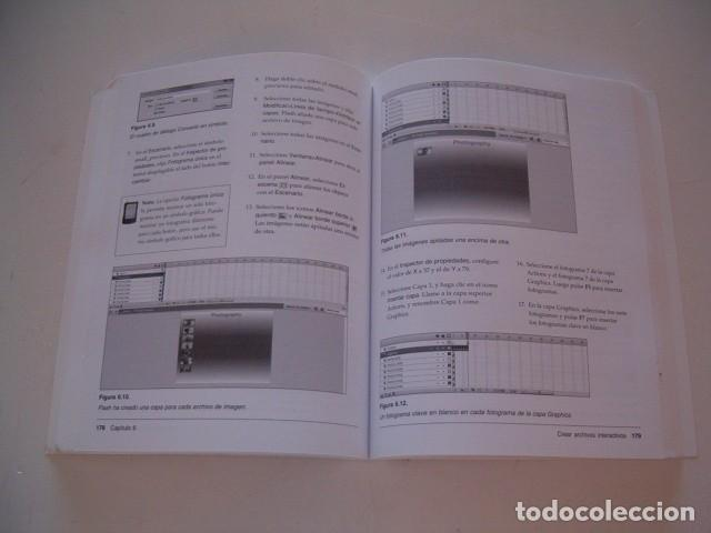 Libros de segunda mano: ADOBE PRESS. Flash CS3 Profesional. El libro oficial. RM77397. - Foto 2 - 65930542
