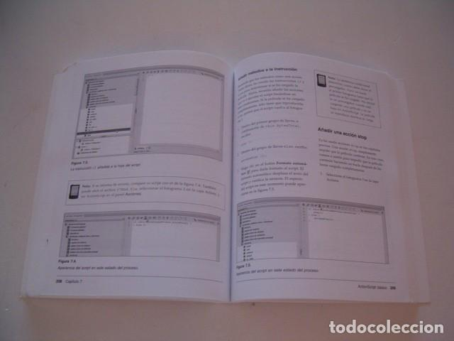 Libros de segunda mano: ADOBE PRESS. Flash CS3 Profesional. El libro oficial. RM77397. - Foto 3 - 65930542