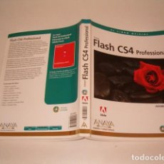 Libros de segunda mano: ADOBE PRESS. FLASH CS3 PROFESSIONAL. EL LIBRO OFICIAL. RM77405. . Lote 65931182