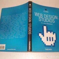 Libros de segunda mano: JULIUS WIEDEMANN (EDIT.). WEB DESIGN: STUDIOS. RMT77436. . Lote 65933970
