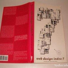 Libros de segunda mano: GÜNTER BEER. WEB DESIGN INDEX 7. RMT77507. . Lote 66836246
