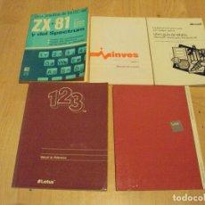 Libros de segunda mano: LOTE DE 3 MANUALES INFORMATICA ANTIGUA. Lote 67520505
