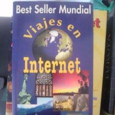 Libros de segunda mano: EDITORIAL ANAYA DIRECCIONES WEBS VIAJES EN INTERNET BEST SELLER MUNDIAL. Lote 67689149