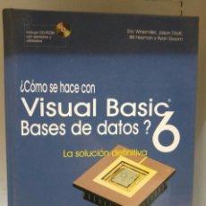 Libros de segunda mano: VISUAL BASIC 6. Lote 68294973