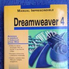 Libros de segunda mano: DREAMWEAVER 4 - ANAYA - NUEVO. Lote 68360049