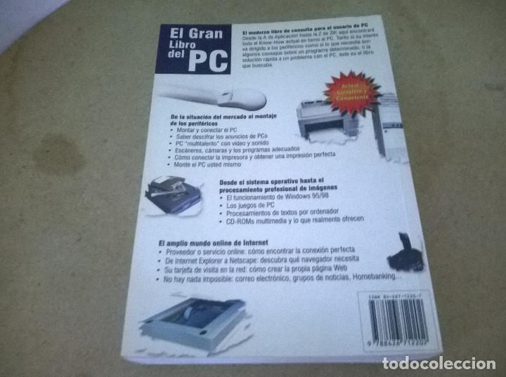 Libros de segunda mano: El gran libro del pc - Foto 2 - 68488037