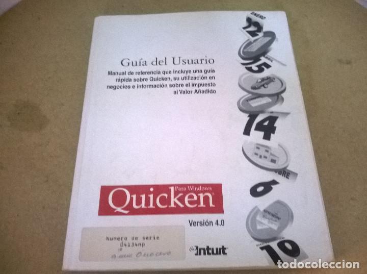 GUIA DEL USUARIO QUICKEN (Libros de Segunda Mano - Informática)