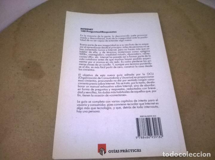 Libros de segunda mano: INTERNET 100 PREGUNTAS @RESPUESTAS - Foto 2 - 68494885