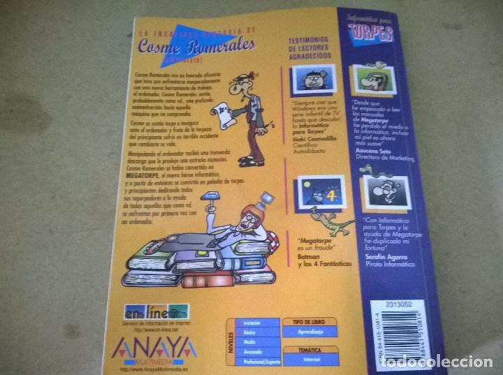 Libros de segunda mano: INFORMATICA PARA TORPES INTERNET - Foto 2 - 261586170