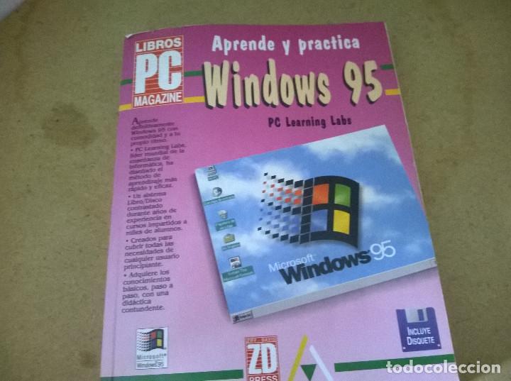 APREDE Y PRACTICA WINDOWS 95 (Libros de Segunda Mano - Informática)
