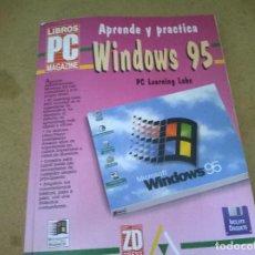 Libros de segunda mano: APREDE Y PRACTICA WINDOWS 95. Lote 68535485