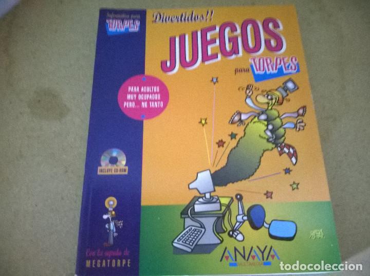 INFORMATICA PARA TORPES JUEGOS (Libros de Segunda Mano - Informática)
