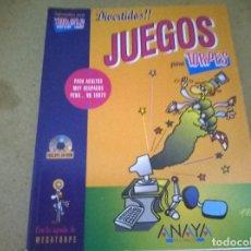 Libros de segunda mano: INFORMATICA PARA TORPES JUEGOS. Lote 68535585