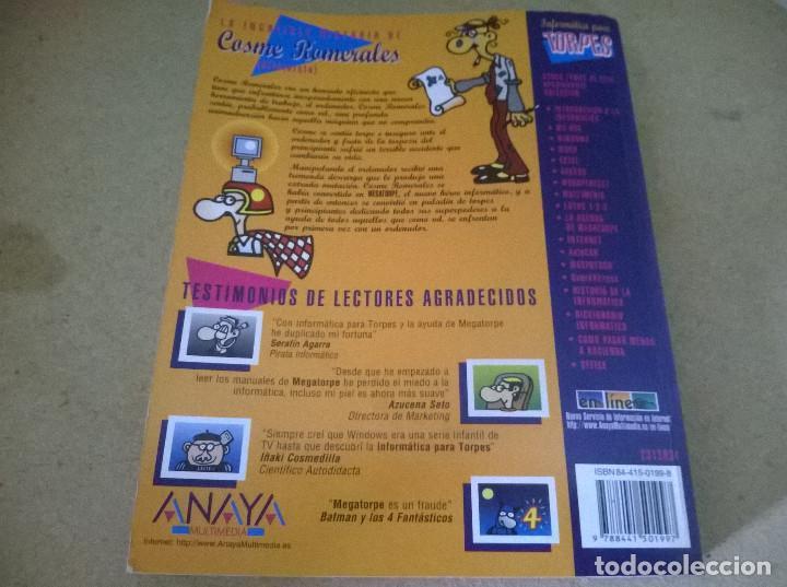 Libros de segunda mano: INFORMATICA PARA TORPES JUEGOS - Foto 2 - 68535585