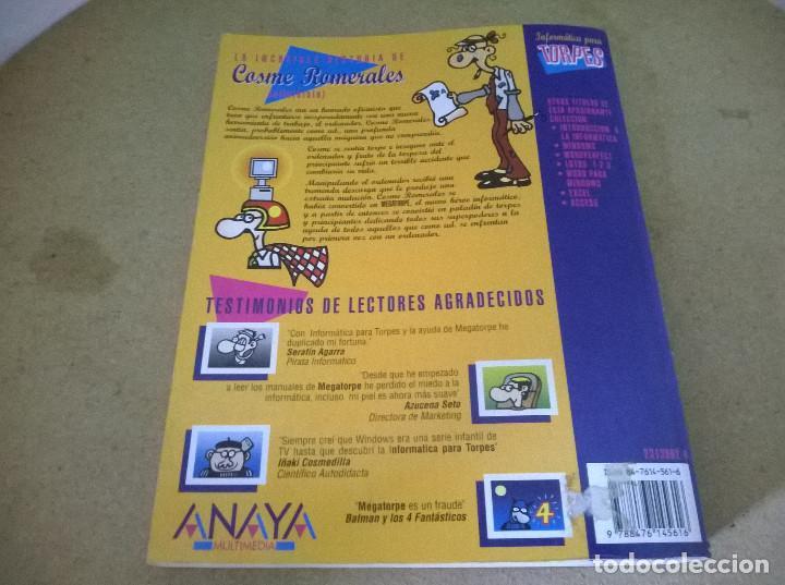 Libros de segunda mano: INFORMATICA PARA TORPES MS-DOS - Foto 2 - 68535989
