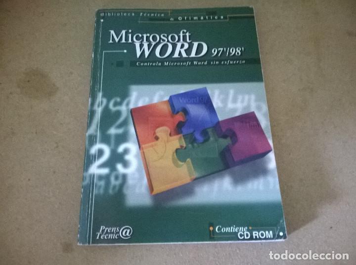 MICROSOFT WORD 97/98 (Libros de Segunda Mano - Informática)