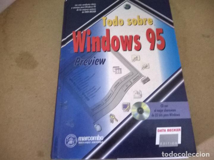 TODO SOBRE WINDOWS 95 (Libros de Segunda Mano - Informática)