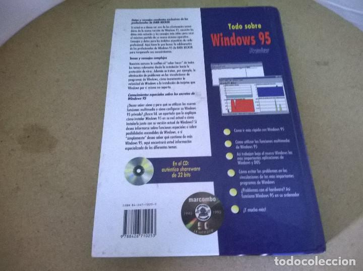 Libros de segunda mano: TODO SOBRE WINDOWS 95 - Foto 2 - 68536309