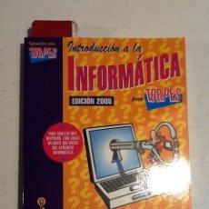Libros de segunda mano: INTRODUCCION A LA INFORMATICA PARA TORPES. 2005 DIBUJAS FORGES. Lote 69073913