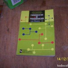 Libros de segunda mano: LOTE LIBRO FUNDAMENTOS DE PROGRAMACIÓN CON M0DULA 2. EDITORIAL CENTRO DE ESTUDIOS RAMÓN ARECES. Lote 69355657