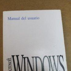 Libros de segunda mano: MANUAL USUARIO MICROSOFT WINDOWS. Lote 69726397