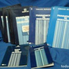 Libros de segunda mano: PROGRAMACIÓN DE ORDENADORES - EDITORIAL TESYS GRUPO ECC 1987. Lote 69922809